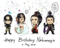 Happy Birthday Nobunaga by AngelERenoir