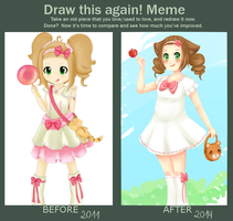 Meme  Before And After 2011 2014 by PolloWeillschmidt