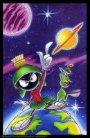 Marvin the Martian by C-McCown