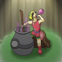 Apo Cary - Potion Maker by Steffanic