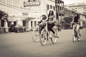 Bike to the Old City by AWPhotograph