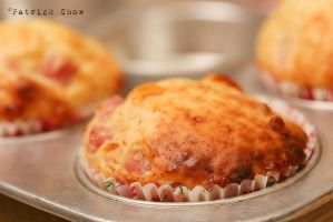 Ham and cheese muffin 1 by patchow
