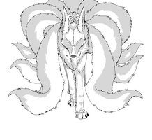 Kitsune Base :Shaded Ver: by Super-Sonic-101