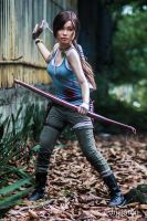 Lara Croft 2013 - There's no other choice... by blue-greentear