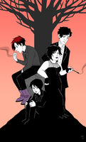 The Goth Kids by CantonKid