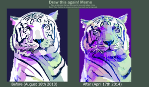 DRAW IT AGAIN MEME by elviraNL