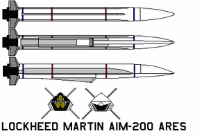 lockheed martin aim-200 Ares by bagera3005