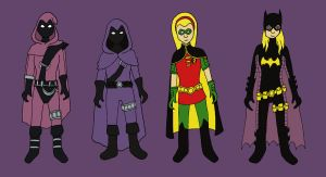 Robin Outfits: Stephanie by evilfuzzle2