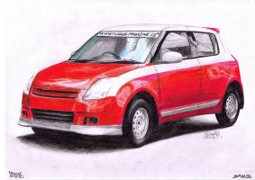 Suzuki Swift v2 by AjoslaF