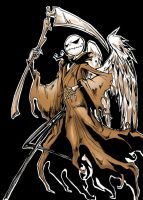 Jack as Angel of Death 2 by favius