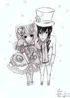 eMO ANd sweet lolita by Serihalt
