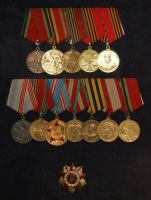Soviet Russian Medals by daliscar