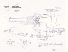Mouth Operated Gun Concept by Brisineo