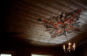 Paintings on the ceiling by Cedma