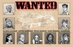 wanted poster by b-maze