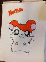 Hamtaro drawing 2 by Ah22783