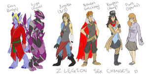Z-Legion Sex Changes LOL by celestialwriter