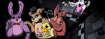 Five Nights at Freddys cover photo by RaiinbowRaven