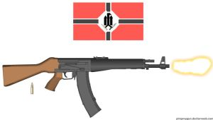 #005: STG44 with Red Army Insignia by TalkingTurtle11