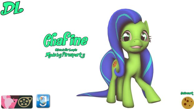 [SFM/MLP OC/DL] Chafine (Request by Laupin) by FireSparky