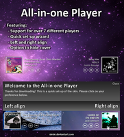 All-in-one Player by maxvanijsselmuiden