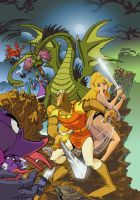 Dragon's Lair Vector by TBottch