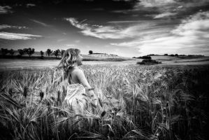 freedom child bw by almiller