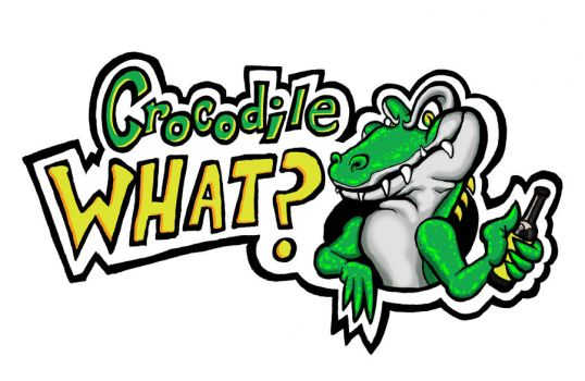 Crocodile What? Band Logo by loribrown