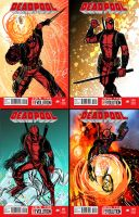 Dead Pool layouts by JoeyVazquez