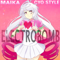 ELECTROBOMB album cover art by NyancyPeekachew