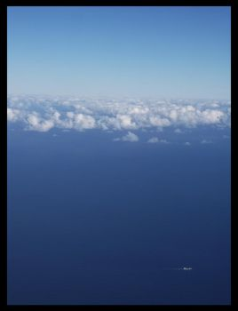 Clouds Float Upon the Ocean by Lilithia