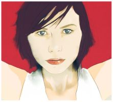 Nina Persson by noMirar