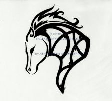 Horse Celtic Tattoo by PICTURES-CRAZY