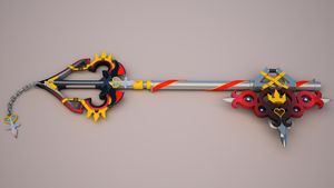 Sora's New Keyblade 3 by tom55200