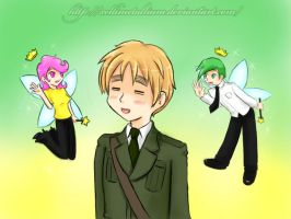 FOP+APH: The Fairy OddFriends by xelliMetallium