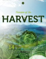 Principles of the Harvest Church Flyer Template by loswl