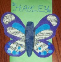 Butterfly Card by HermioneFrost