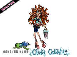 Monster High Contest: Olivia Octavius by MetallicDynamite