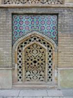 Persian Architecture 11 - Tiles and Vent by fuguestock