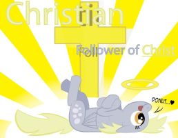 Derpy The Answer To Christ by OstiChristian