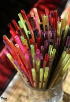 Color straw by VeruPhotos