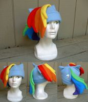 Rainbow Dash Hat by Kimba616