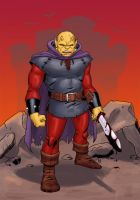E is for Etrigan by Mista-M
