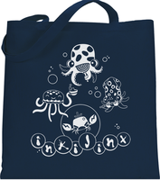 Tentatrio Tote Bag by inki-drop