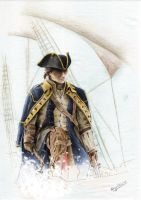 Connor Kenway Colour by froggywoggy11