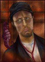 Nostalgia Critic Dark version by Grunnet