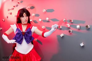 Sailor Mars at Anime Fusion by thatbloodypirate