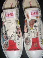 SNOOPY sneakers1 by brolicdesigns