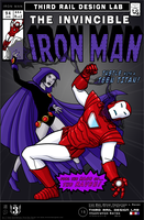 TRDL - Iron Man vs Raven by TRDLcomics