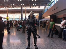 Garrus Vakarian - Otakuthon 2013 by J25TheArcKing